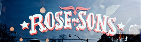 Cover photo from Rose & Sons site
